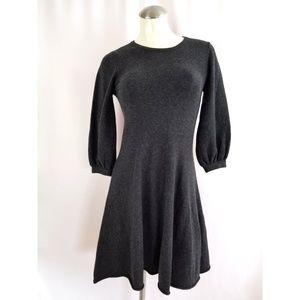 Autumn Cashmere Size XS 100% Cashmere Dress Gray